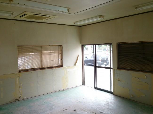 愛川町 S店舗 改修工事 Before