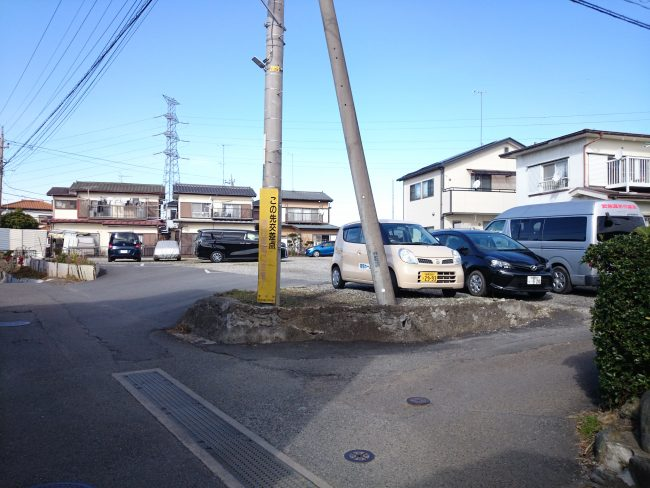中津 石神駐車場