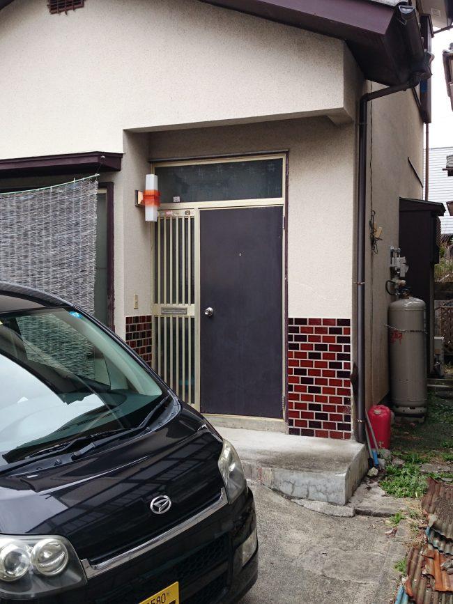 愛川町 A様邸 玄関ドア交換 Before