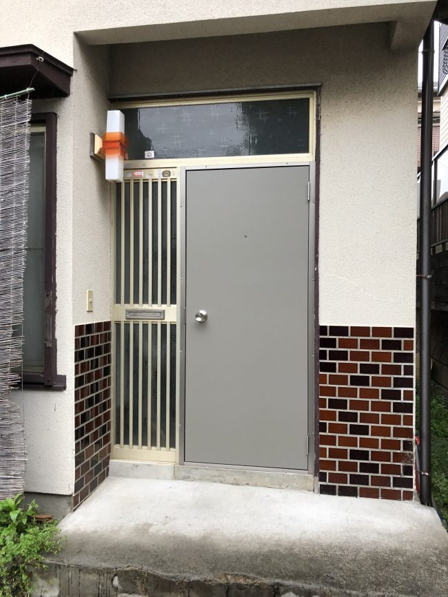 愛川町 A様邸 玄関ドア交換 After