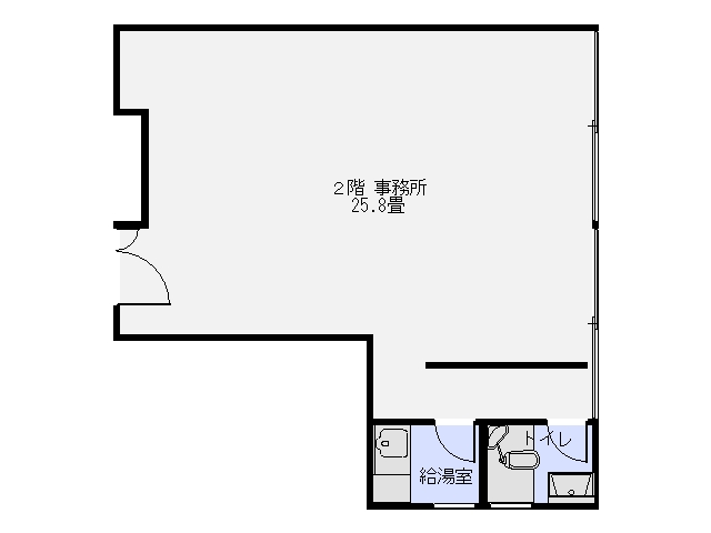 熊谷ビル 2階 間取り図