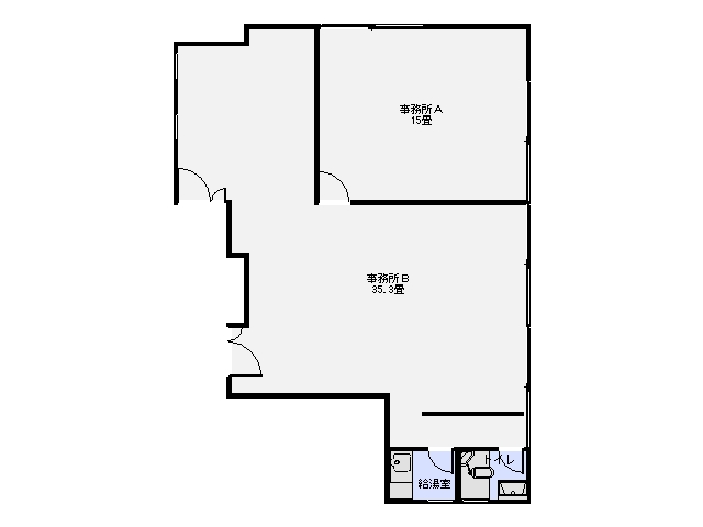 熊谷ビル 3階 間取り図