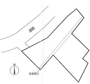三増 貸地 区画図